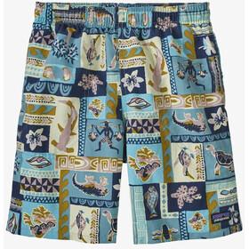 Patagonia Baggies Shorts Boys, gris/bleu